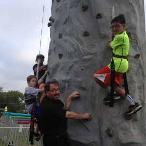 rock wall rental Texas