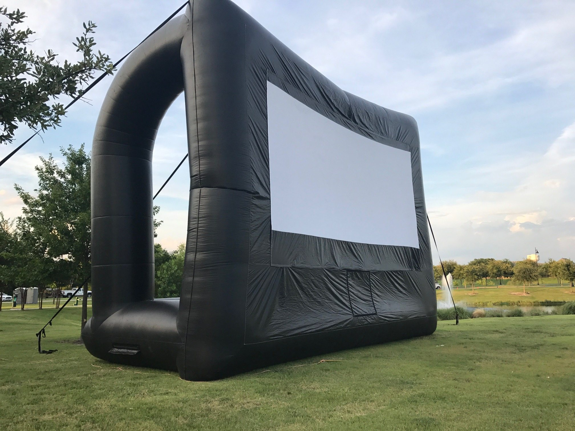 Outdoor movie hire - Glow in the dark stars for the ceiling