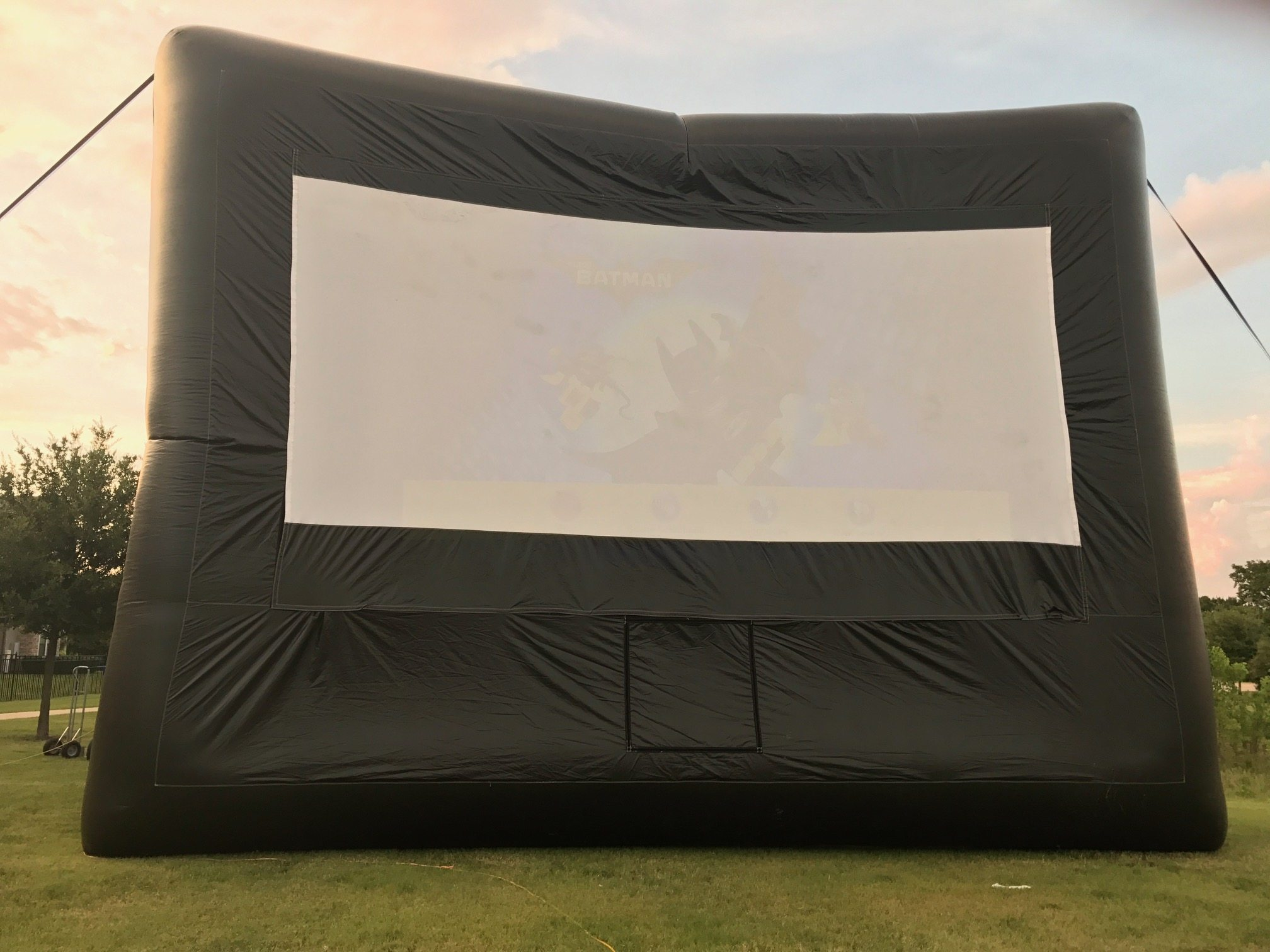 Delicieux Backyard Movie Screen Rental