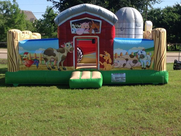 Farm Yard Themed Inflatable for Toddlers in Texas