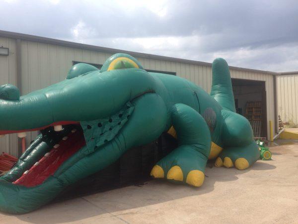 Gator Inflatable Bounce House & Slide