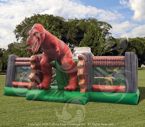 Jurassic Dinosaur Themed Inflatable Party Rental