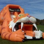 saber-tooth-tiger-inflatable-slide-rental-dfw-texas