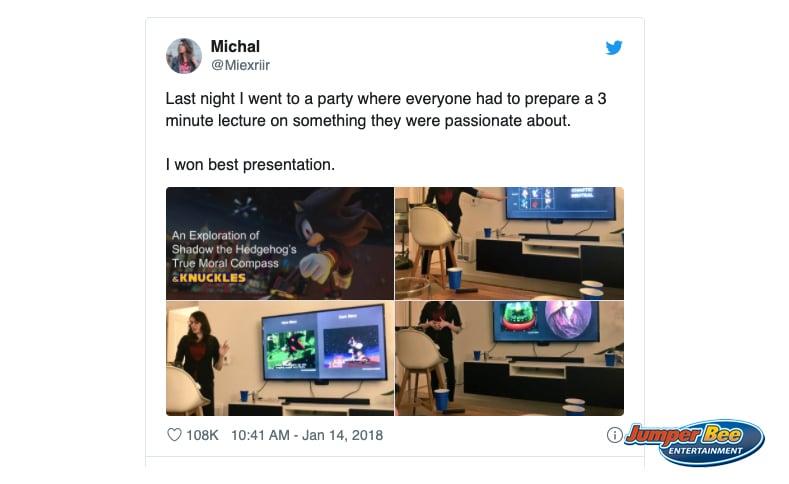 Example Presentation Idea