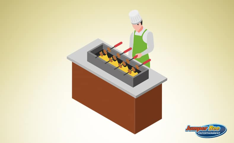 Barbeque for Employees