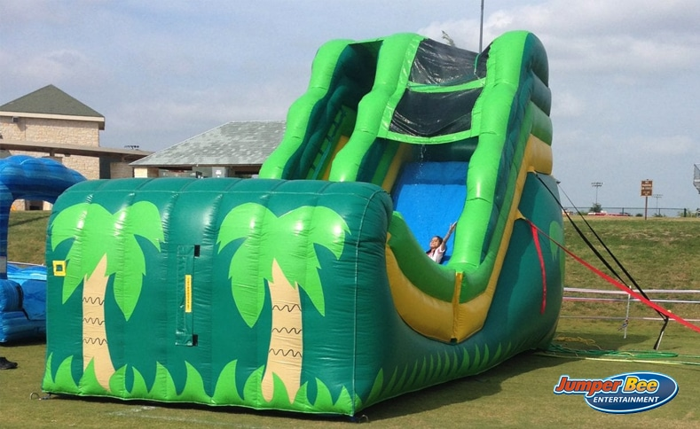 Water Slide Bounce House