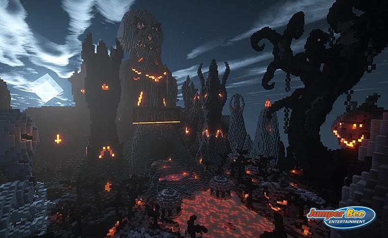 Halloween Map on Minecraft