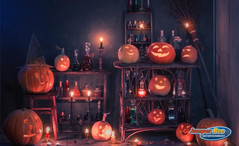 Inside Haunted House