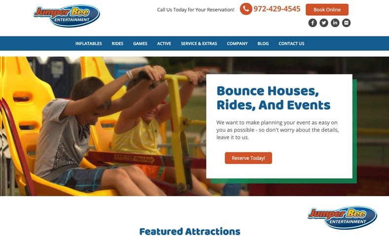 JumperBee Homepage