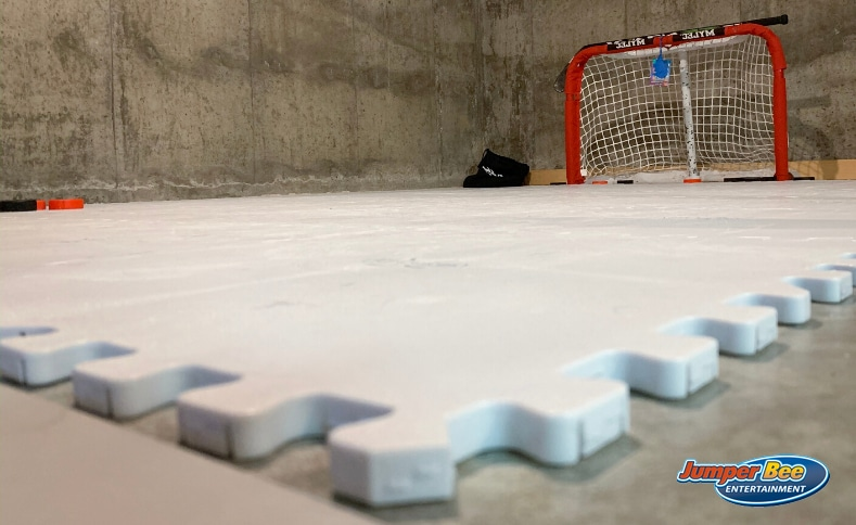 Synthetic Ice Rink Tiles