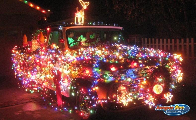 Christmas Lights Truck
