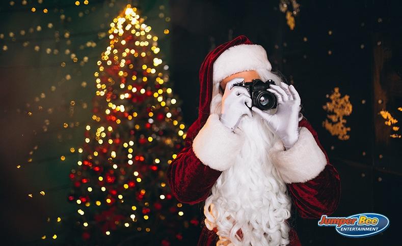 Santa Taking Photo