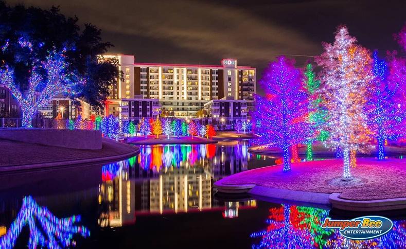 Vitruvian Park Lights