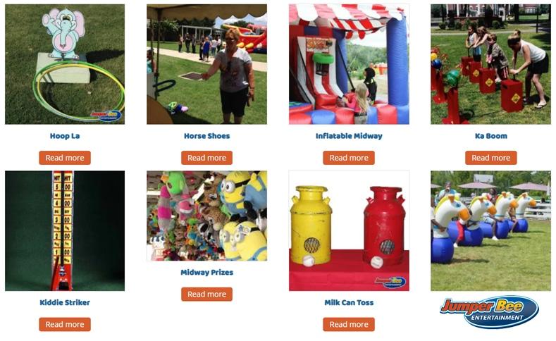 JumperBee Carnival Games