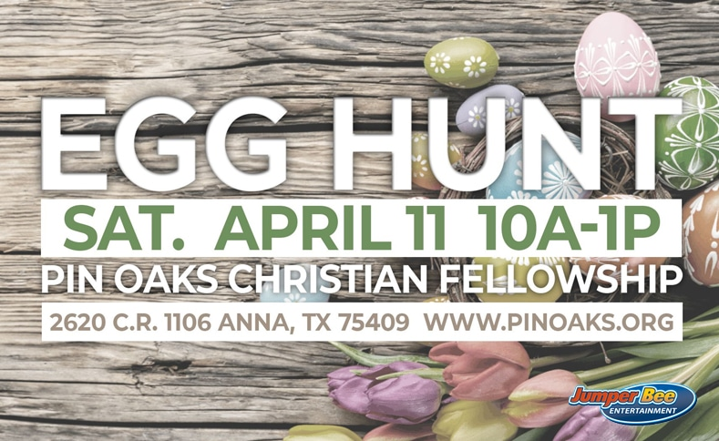 Pin Oaks Egg Hunt