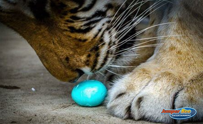 Tiger Easter Egg