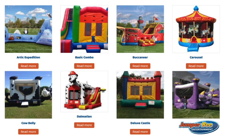 Jumperbee Bounce Houses
